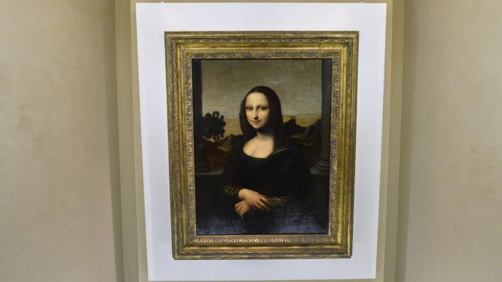 Possible Mona Lisa predecessor by da Vinci