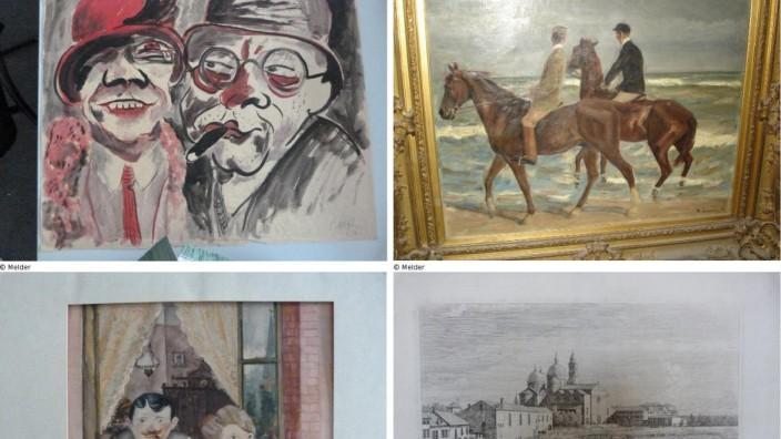 Verdächtige Werke aus der Sammlung Gurlitt