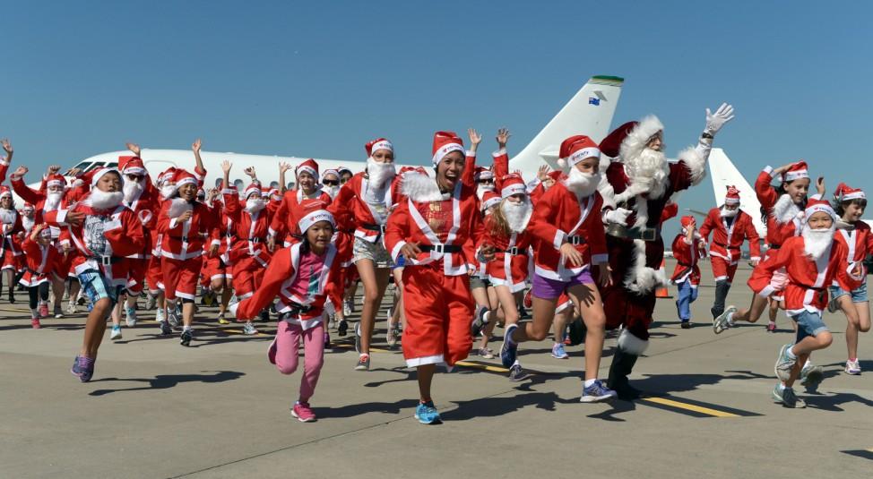 Santa Clause Run Darwin