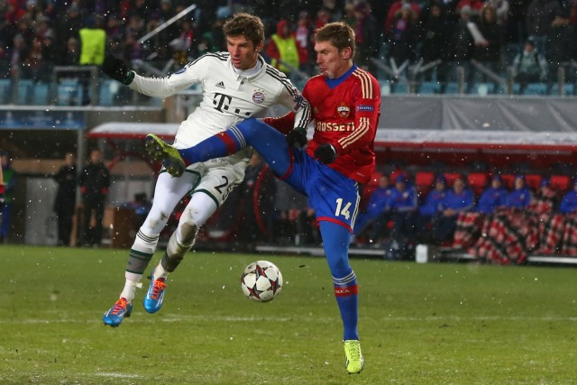 PFC CSKA Moskva v FC Bayern Muenchen - UEFA Champions League