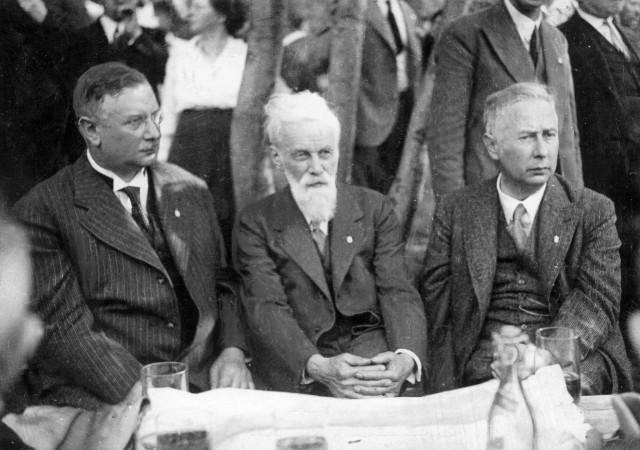 Joseph Wirth, Dr. Liebenpfeiff und Theodor Heuss, 1921 | Joseph Wirth, Dr. Liebenpfeiff and Theodor Heuss, 1921