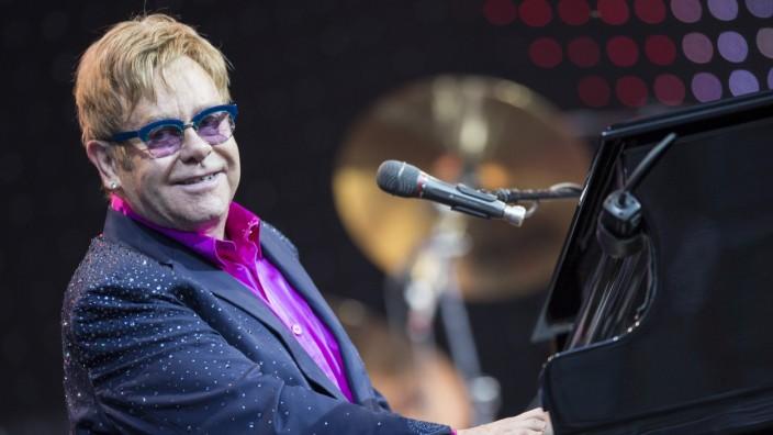 Elton John in Berliner Waldbühne