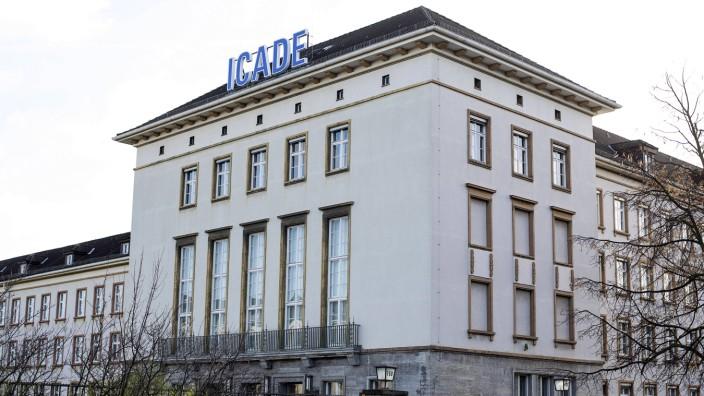 """Die """"Hauptstelle für Befragungswesen"""" und der BND: Die """"Hauptstelle für Befragungswesen"""" am Hohenzollerndamm in Berlin"""