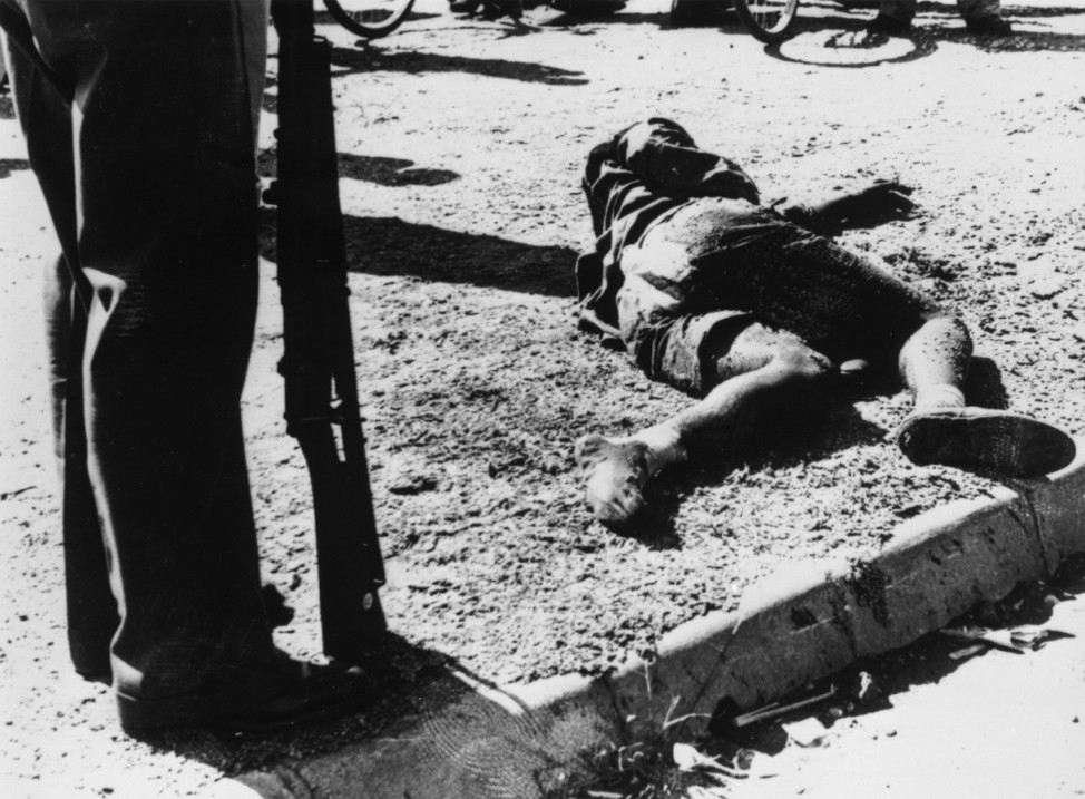 Sharpeville Victim