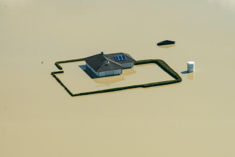 Jahresrückblick 2013 - Hochwasser in Deutschland