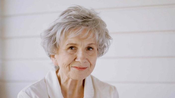 Schriftstellerin Alice Munro