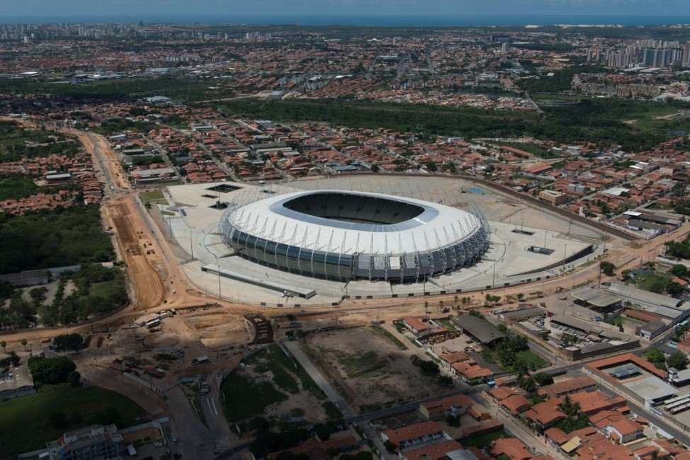 Castelao Arena in Fortaleza Brasilien
