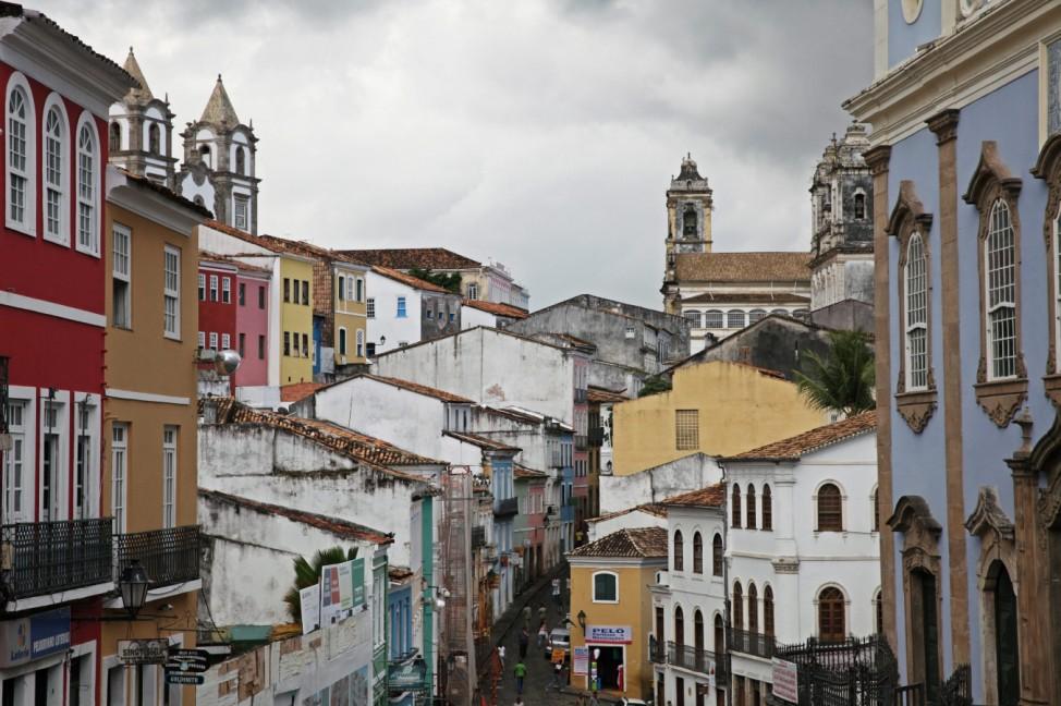 Pelourinho in Salvador da Bahia