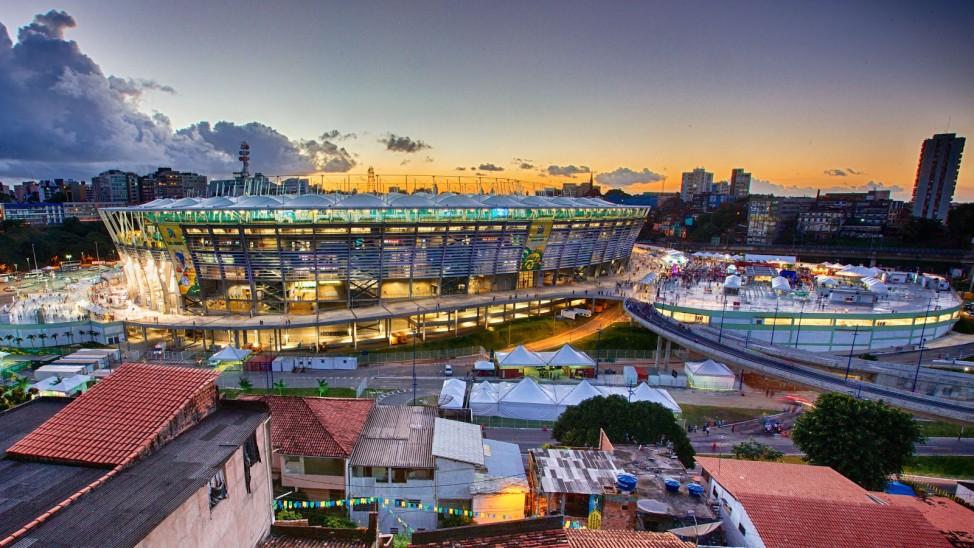 Fonte Nova Arena Stadion in Salvador da Bahia Brasilien