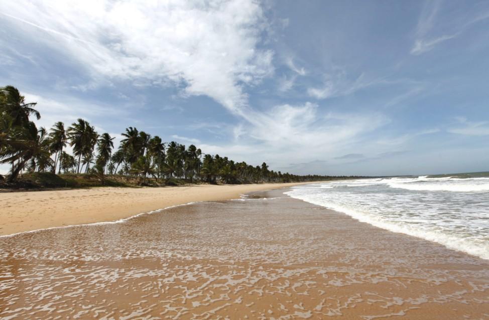 Costa do Sauipe an der Coconut Coast bei Salvador Brasilien