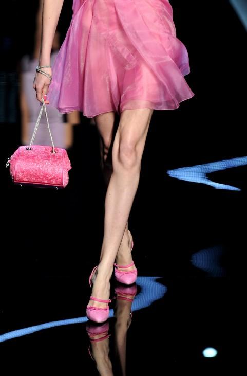 Handtaschen-Model