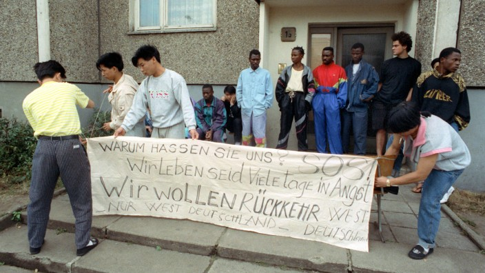 Asylbewerberheim in Hoyerswerda