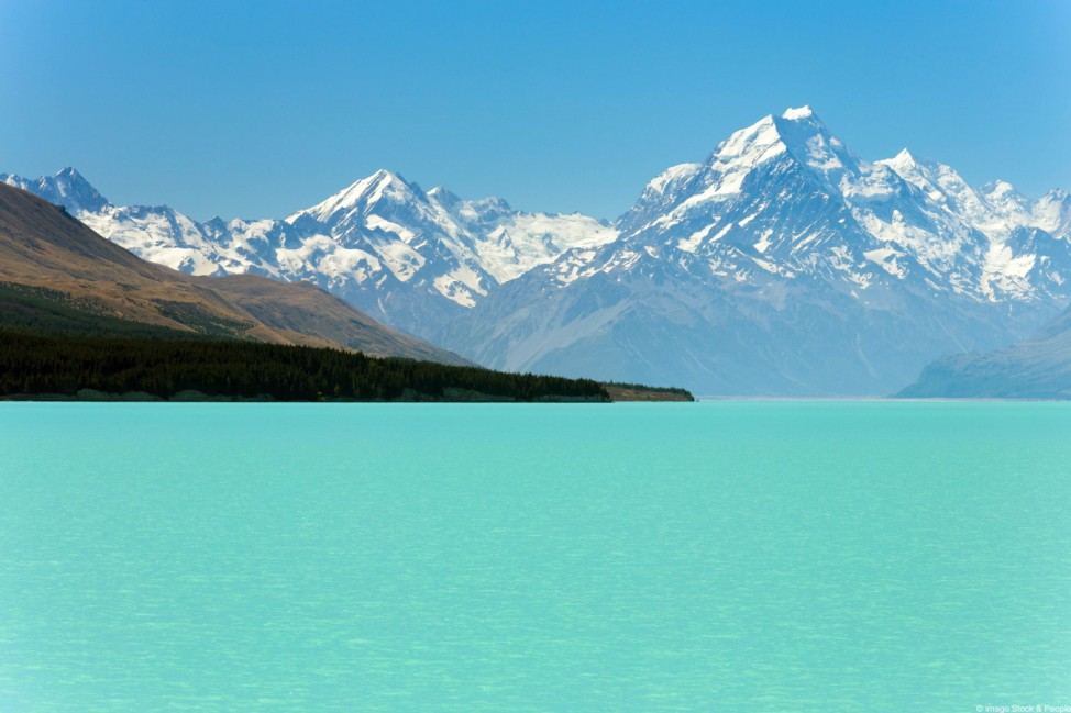 Lake Pukaki Südinsel Neuseeland