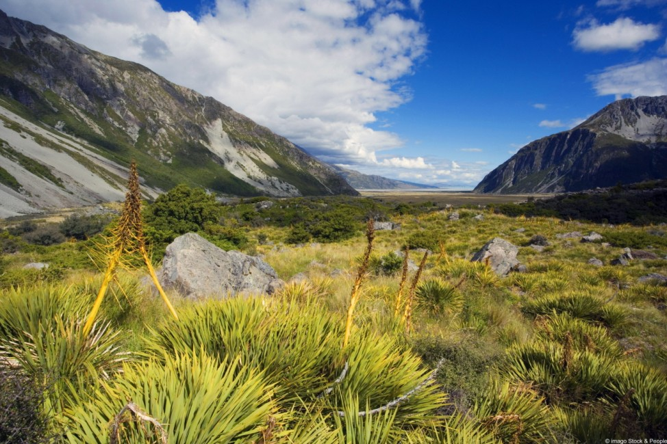 Hooker Valley Neuseeland Südinsel Lake Pukaki
