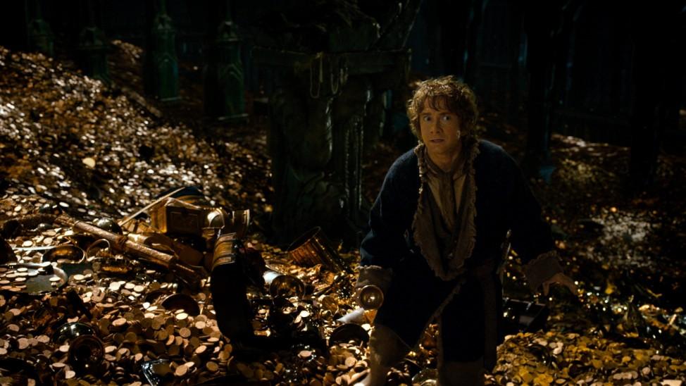 """Szene aus Film """"Der Hobbit"""""""