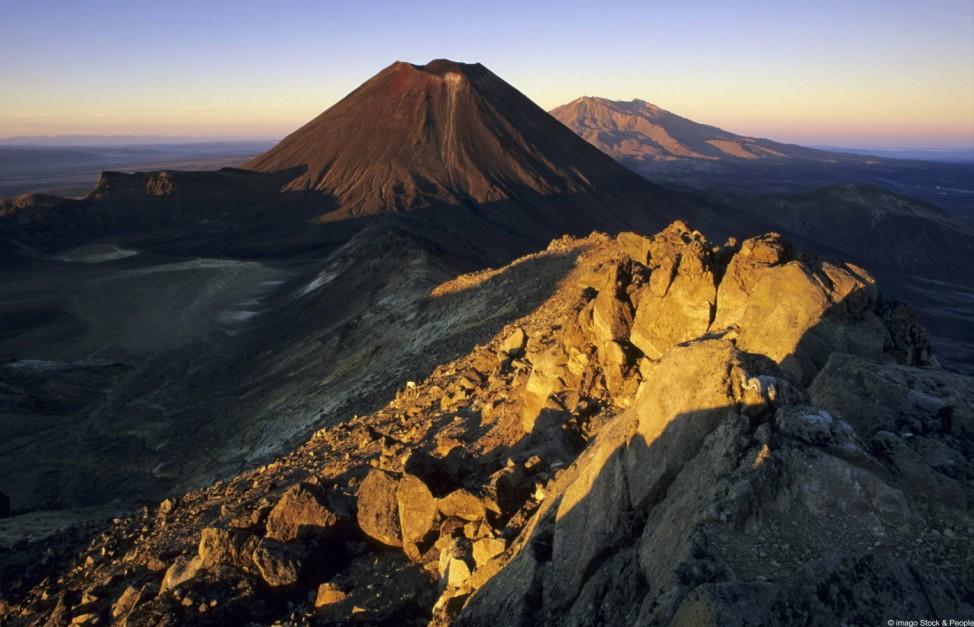 Hobbit Drehorte Neuseeland Tongariro Nationalpark