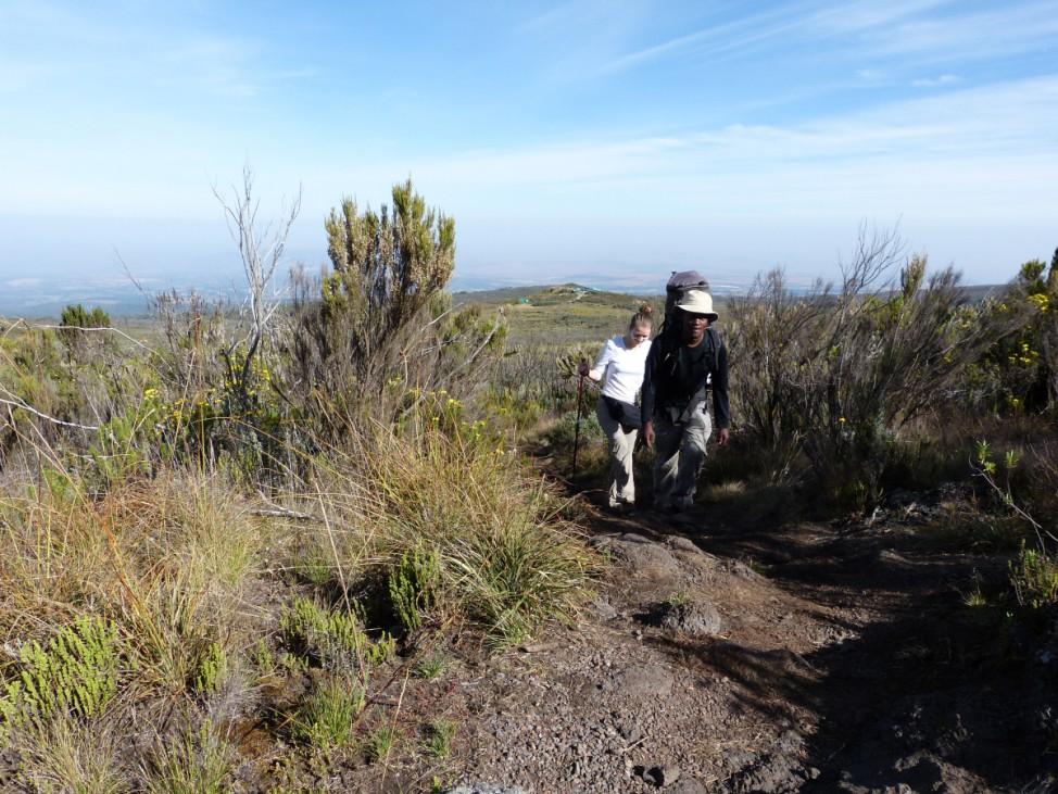 Mount Kenya Kenia Afrika Bergführer Reuben Gathaara Maina
