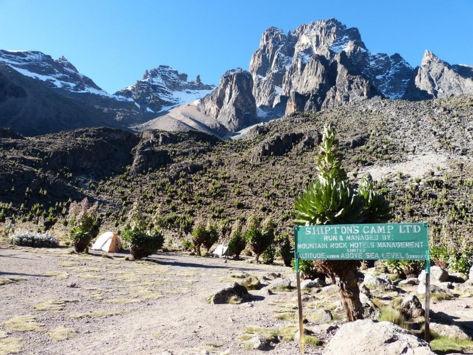 Mount Kenya Kenia Afrika