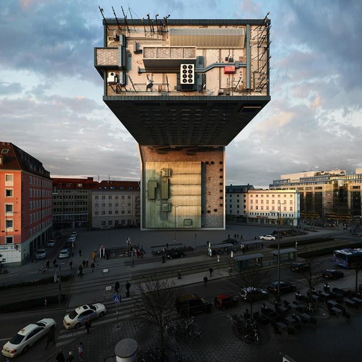 Víctor Enrich Gebäude München