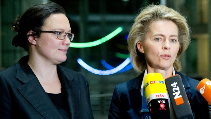 Koalitionsverhandlungen Gruppe Arbeit und Soziales
