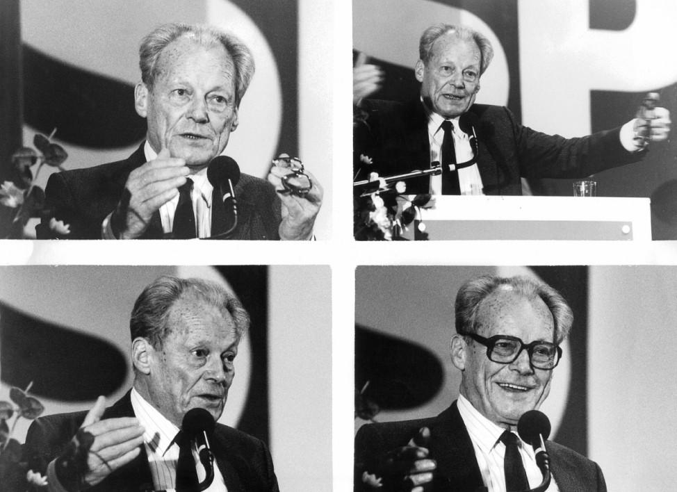 Willy Brandt, 1989/90