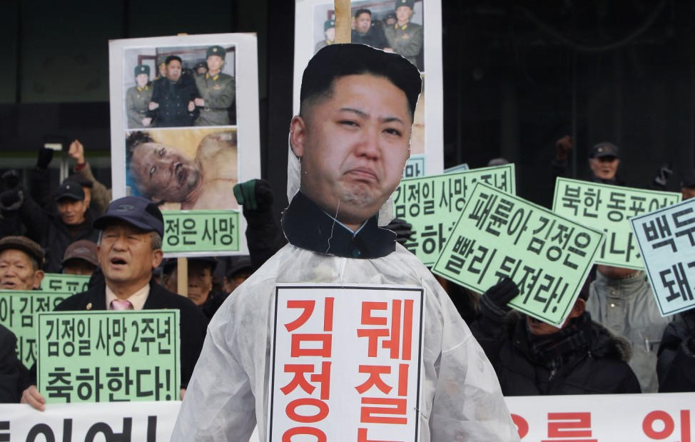 South Korean Conservative Civic Group Holds Anti-North Korea Protest In Seoul