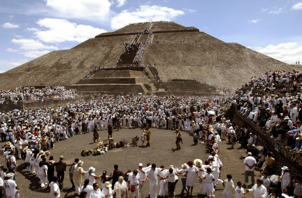 Mexikos Sonnenpyramide