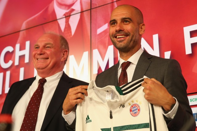 FC Bayern Muenchen Presents New Head Coach Josep Guardiola