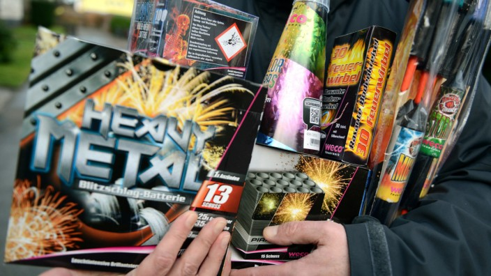 Verkaufsstart von Feuerwerk
