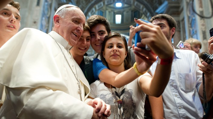 Vatican Pope Youths