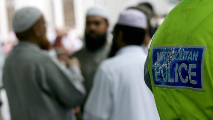 Muslimische Männer Moschee London