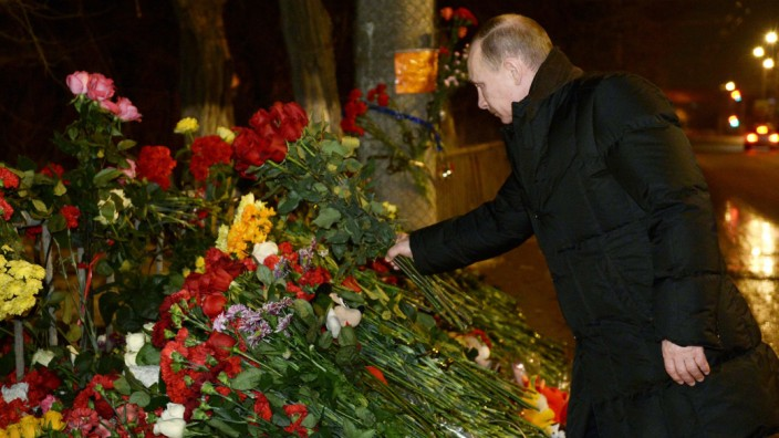 Präsident Putin Wolgograd