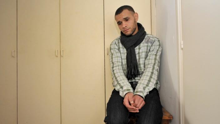 Asylbewerber in Psychiatrie: Der Asylbewerber Bouzalmate.