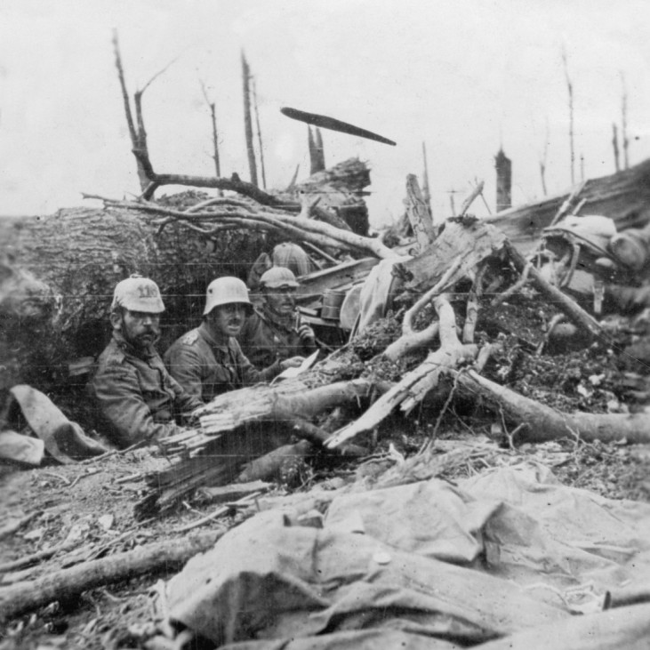 Deutsche Soldaten bei Verdun, 1916