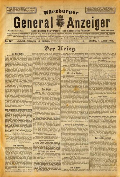 125 Jahre Main Post Würzburg