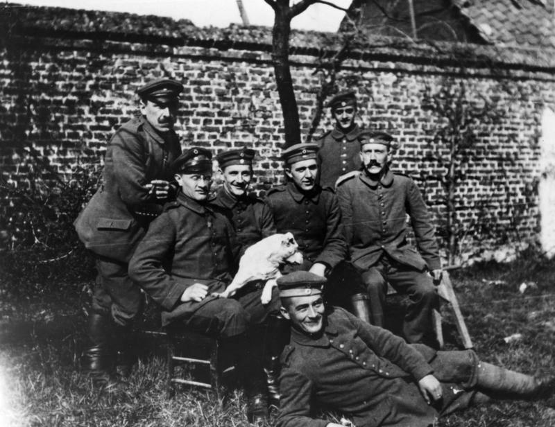 Adolf Hitler im Ersten Weltkrieg; Hitler im Ersten Weltkrieg