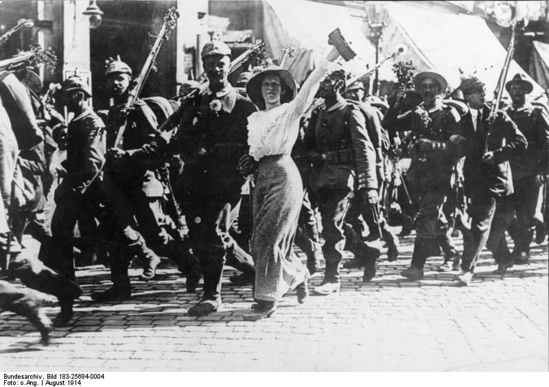 I. Weltrkieg, Mobilmachung; Erster Weltkrieg 1914 Kriegsausbruch