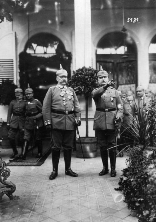 Paul von Hindenburg, Erich Ludendorff; Hindenburg Ludendorff 1917