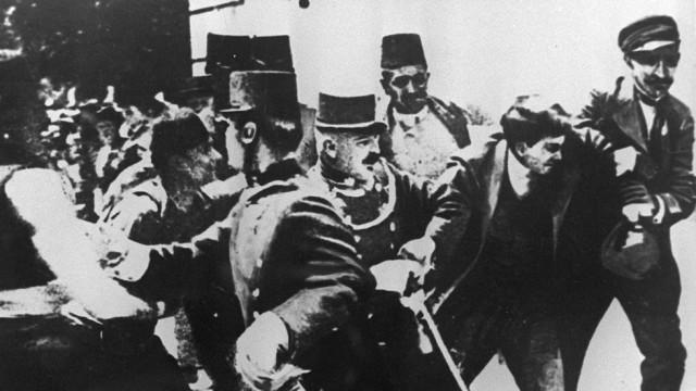 Gavrilo Princip Erster Weltkrieg Sarajewo Erzherzog Franz Ferdinand