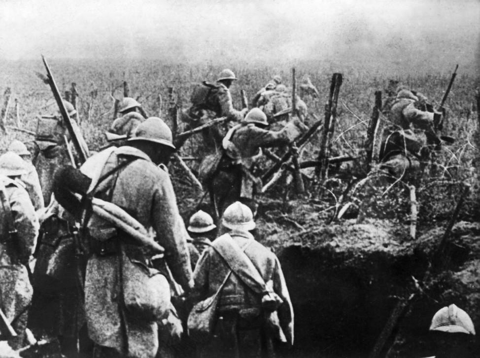 Erster Weltkrieg Westfront Soldaten  Verdun Frankreich