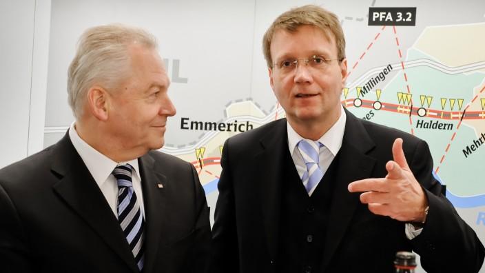 Rüdiger Grube und Ronald Pofalla