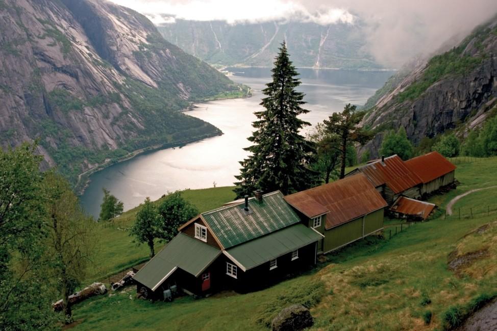 TV-Serie führt an Norwegens einsamste Plätze