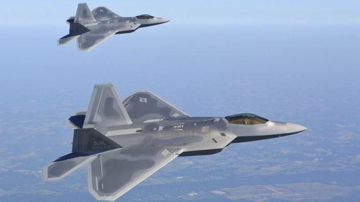 Kampfjets F-22