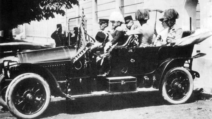 Erzherzog Franz Ferdinand in Sarajewo, 1914