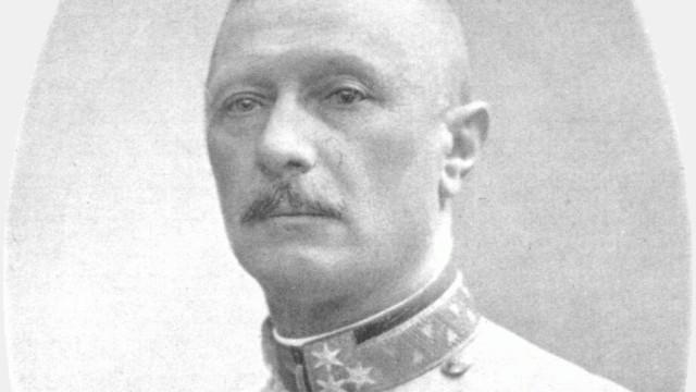 Armee-Inspektor Geheimer Rat Feldzeugmeister Oskar Potiorek, Landeschef von Bosnien und der Herzegowina