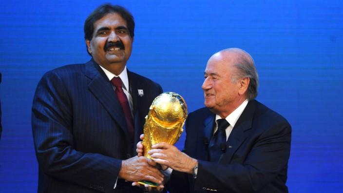 Fifa Fußball WM Katar 2022 Sepp Blatter