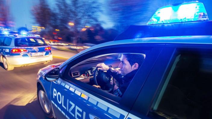 Polizeisirenen Streifenwagen Polizei