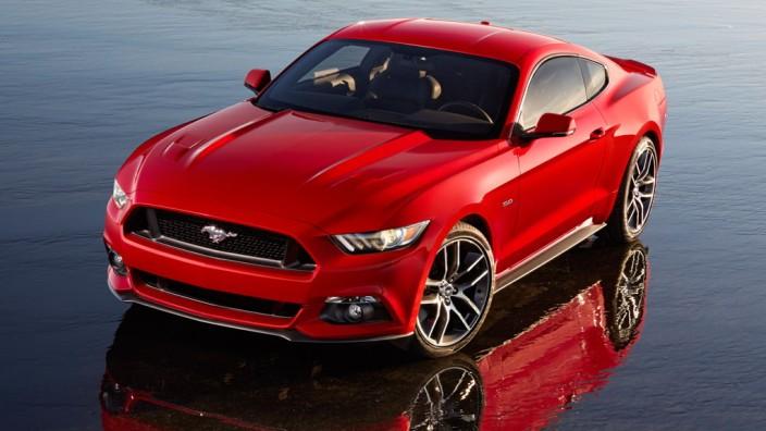 Der neue Ford Mustang GT.