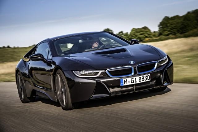 Der BMW i8 ist das zweite Modell, dass unter dem Elektro-Label erscheint.