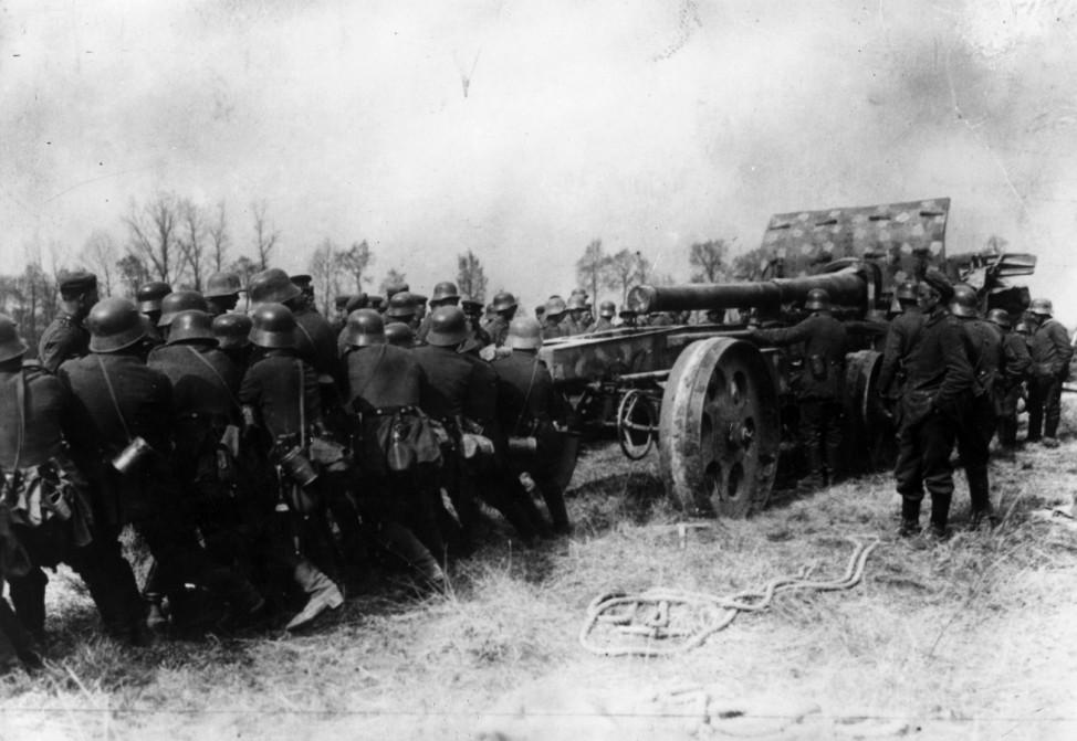 Erster Weltkrieg Westfront Frankreich deutsche Soldaten Montdidier